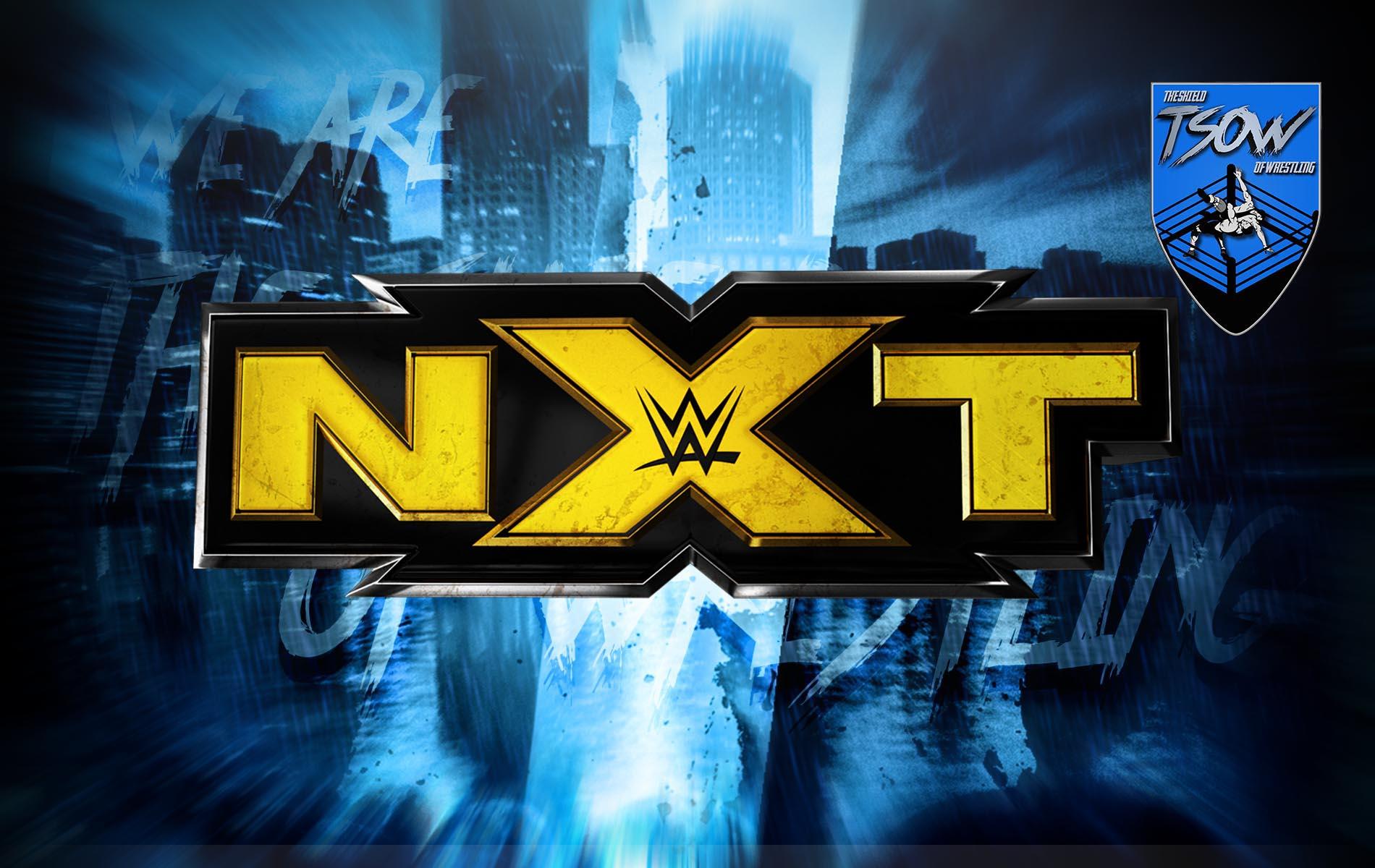 NXT: annullato un incontro per stasera