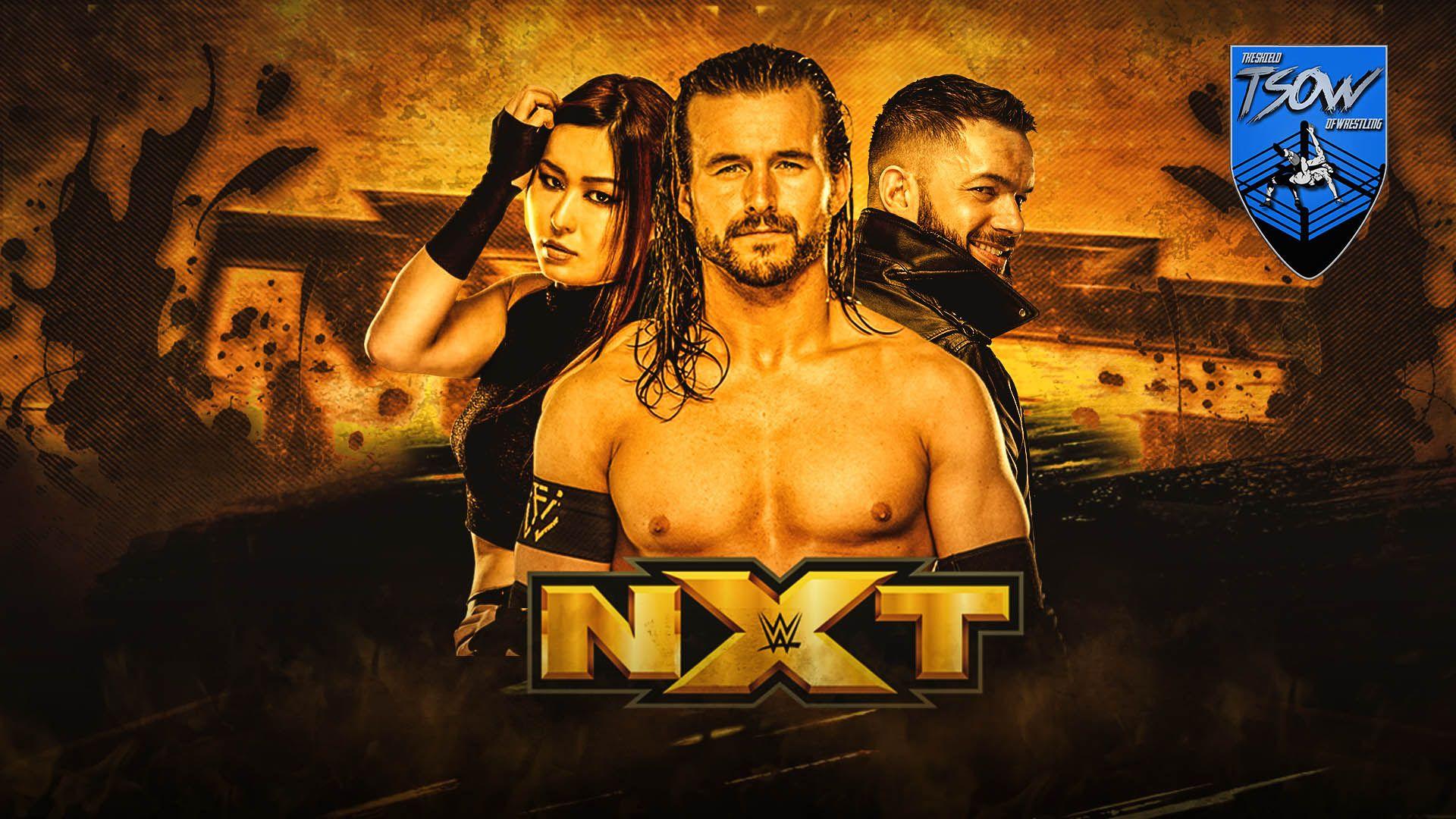 Report NXT 10-02-2021 - WWE