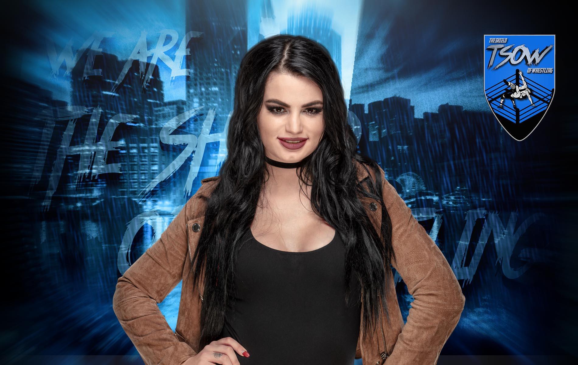 Paige si mostra bionda su Instagram