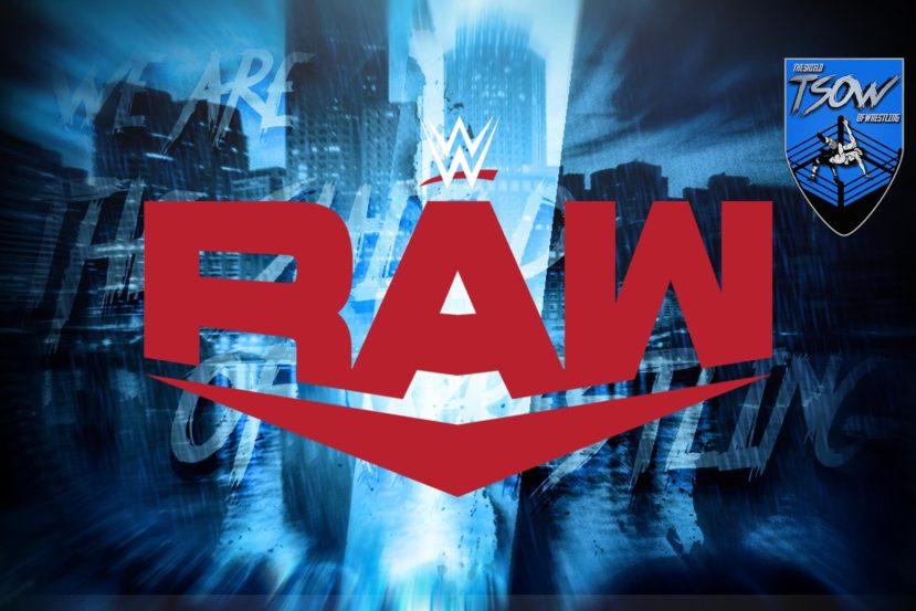 RAW: annunciati due match per la puntata di domani