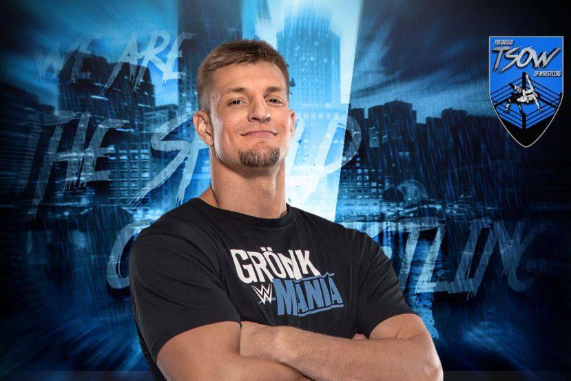 Rob Gronkowski ha problemi con gli altri wrestler?
