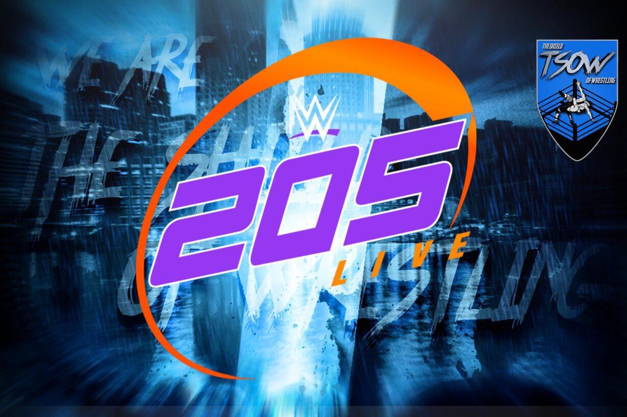 205 Live Risultati 11-06-2021 - WWE