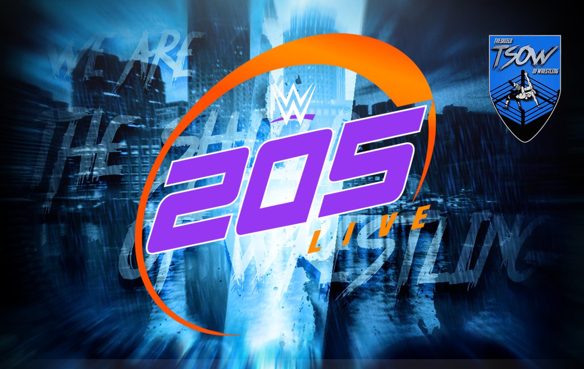 205 Live Risultati 21-05-2021 - WWE