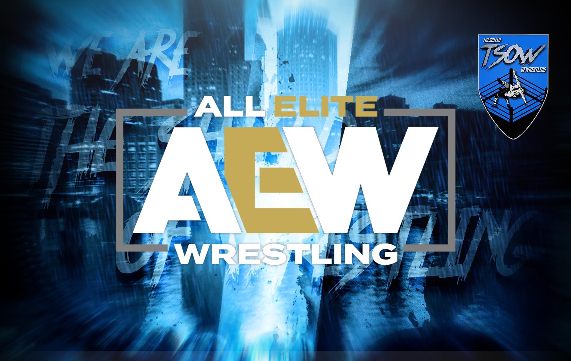 AEW: niente controllo creativo ai lottatori