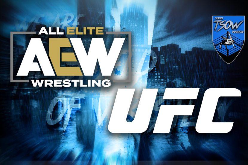 AEW e UFC: gli atleti nello stesso hotel
