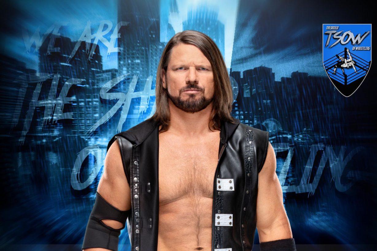 AJ Styles parla del suo match di WrestleMania contro Shinsuke Nakamura