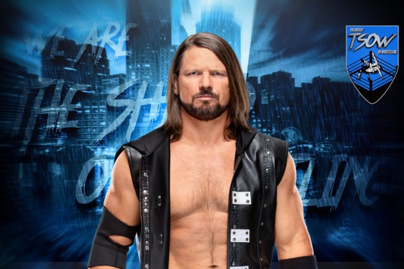 SmackDown: AJ Styles difenderà il titolo durante la prossima puntata
