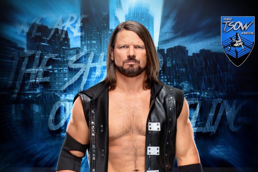 AJ Styles ha un grande problema con i Ladder Match in WWE