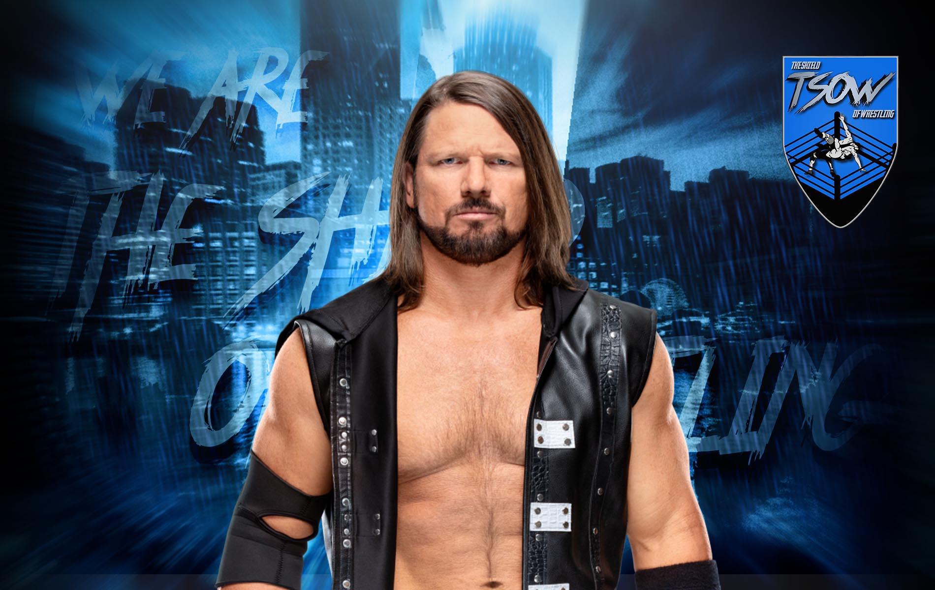 AJ Styles dichiara: la WWE sta pregando che diventi campione