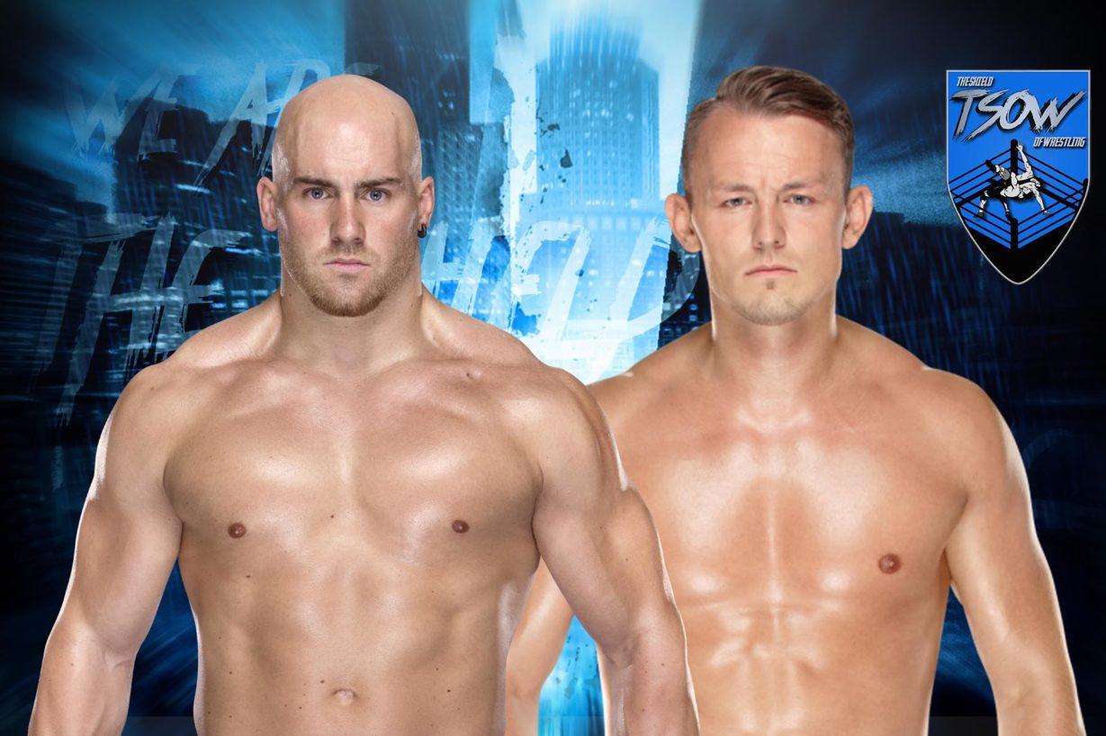 Fabian Aichner campione ad NXT insieme a Marcel Barthel