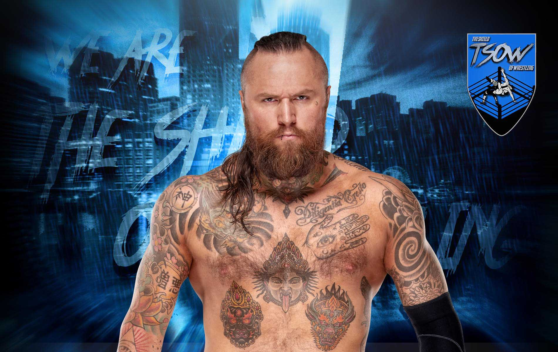 Aleister Black doveva battere Brock Lesnar a WrestleMania 36