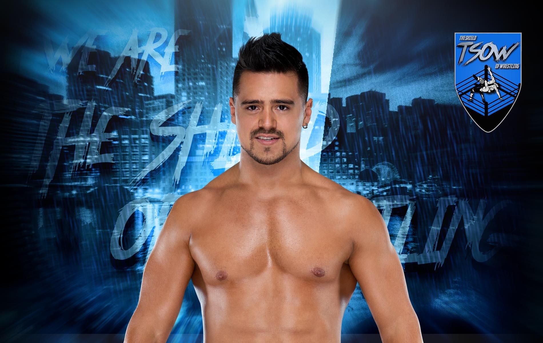 Angel Garza rivela l'entità dell'infortunio patito a Clash of Champions