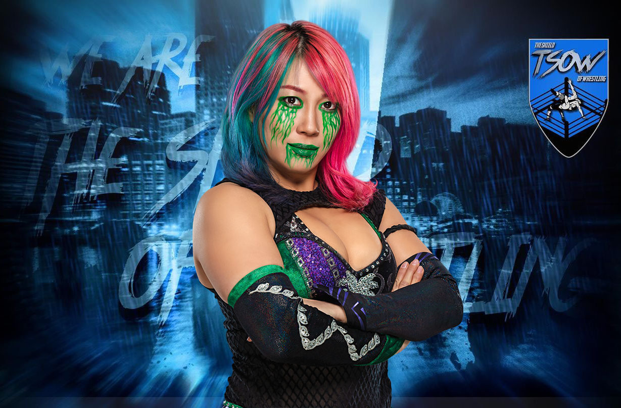 Asuka: a SummerSlam Triple Threat Match con Sasha Banks e Bayley?