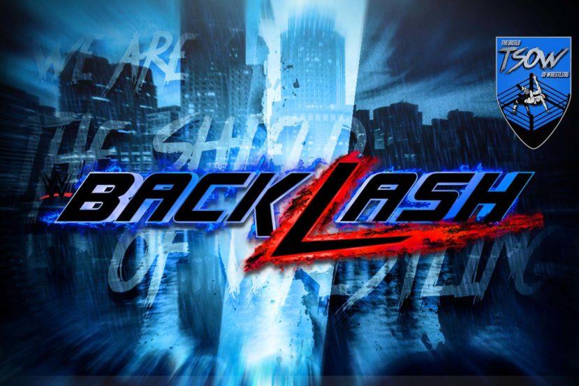 Backlash: Annunciato match titolato