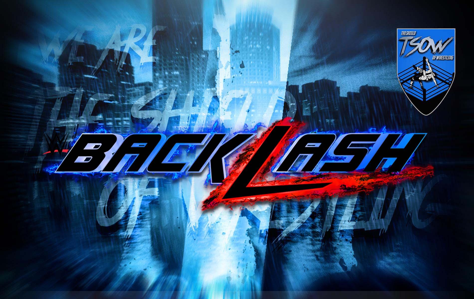 Risultati WWE Backlash 2020