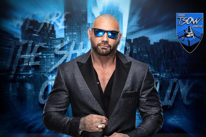 Batista ha voluto ringraziare Hulk Hogan durante un'intervista