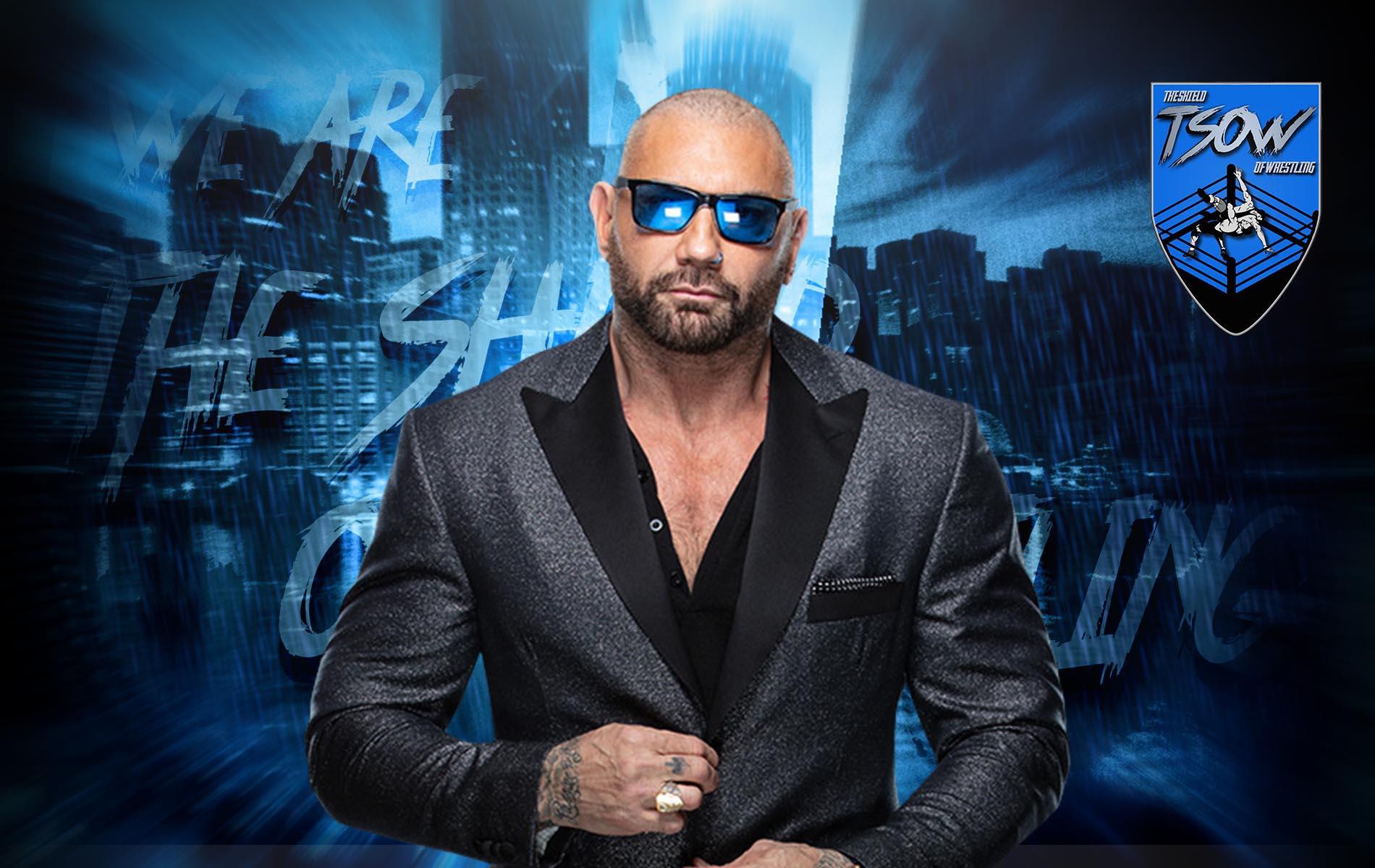 Batista ufficializza il ritiro dal wrestling