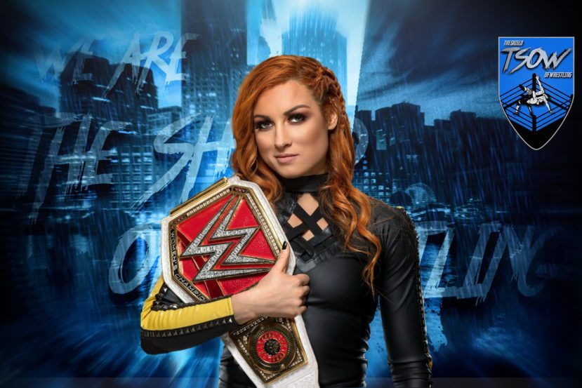 Becky Lynch è incinta: L'annuncio apre la puntata di RAW