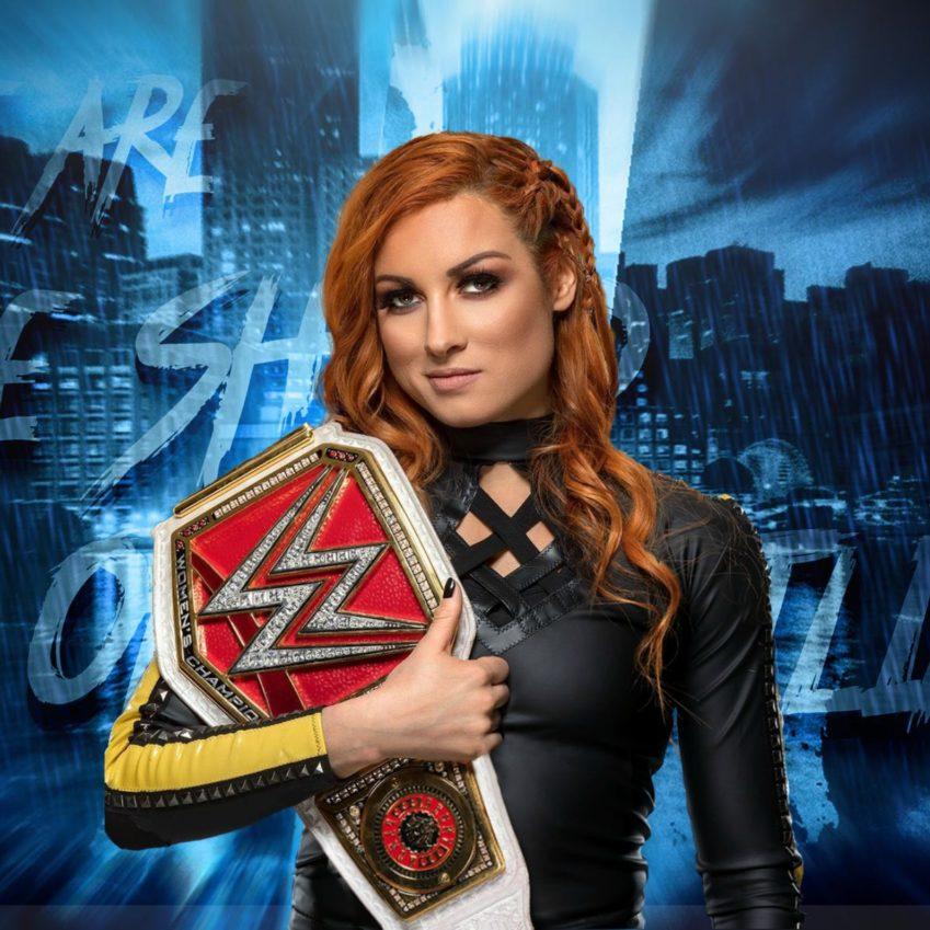 Becky Lynch rimossa dalle grafiche ufficiali di RAW