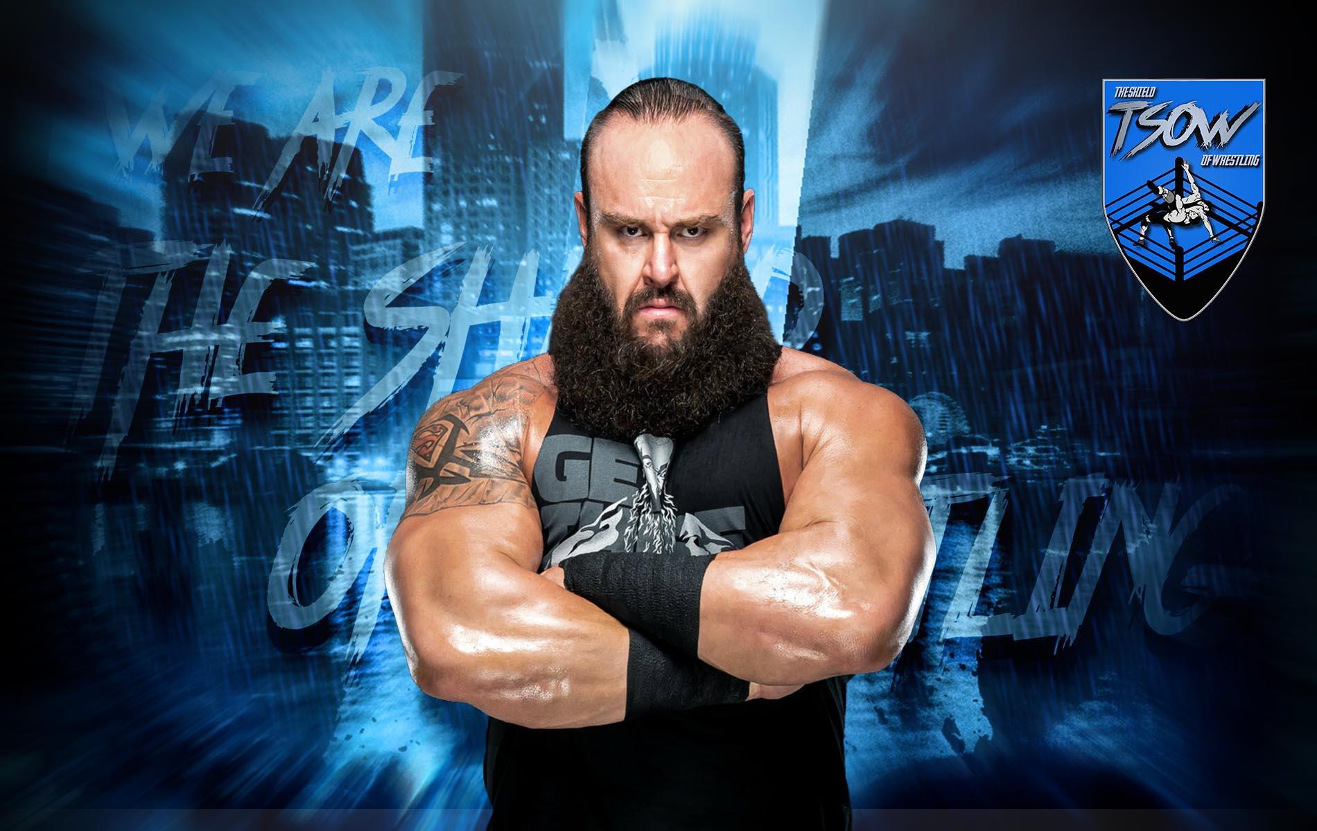 Braun Strowman rilasciato dalla WWE