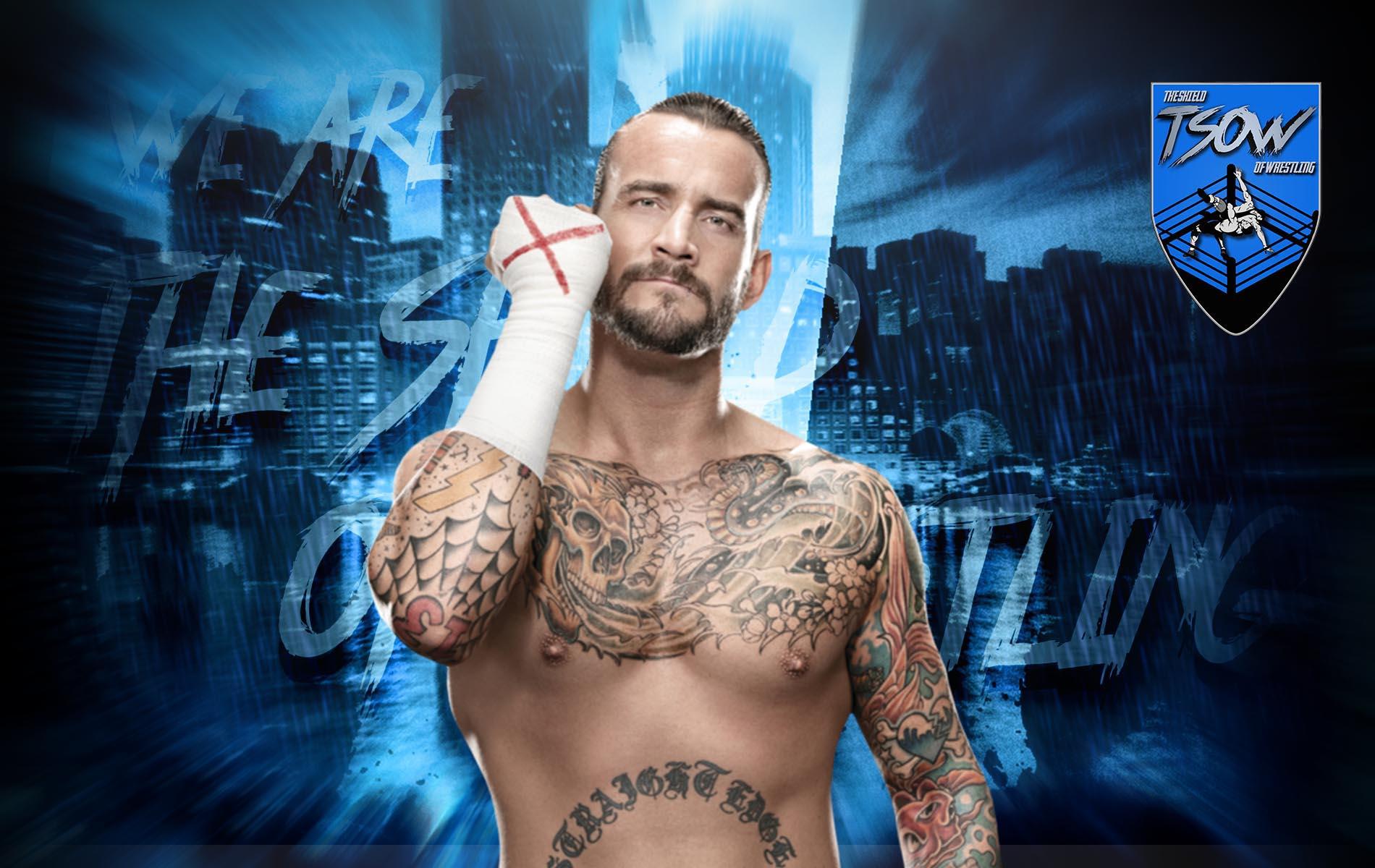 CM Punk reagisce al rilascio di Samoa Joe