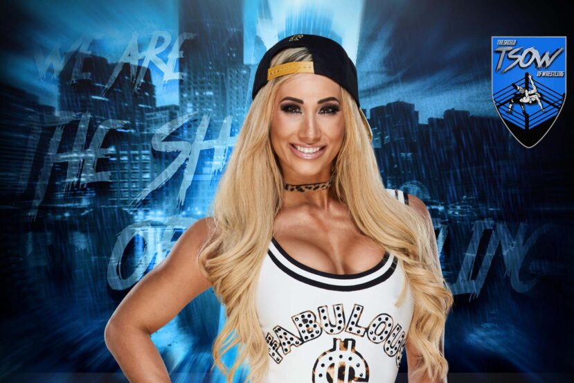 Carmella incidente col costume anche per lei a WrestleMania 37