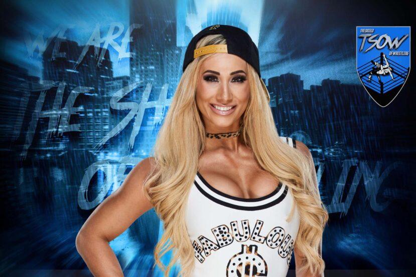 Carmella critica la card di WrestleMania 37