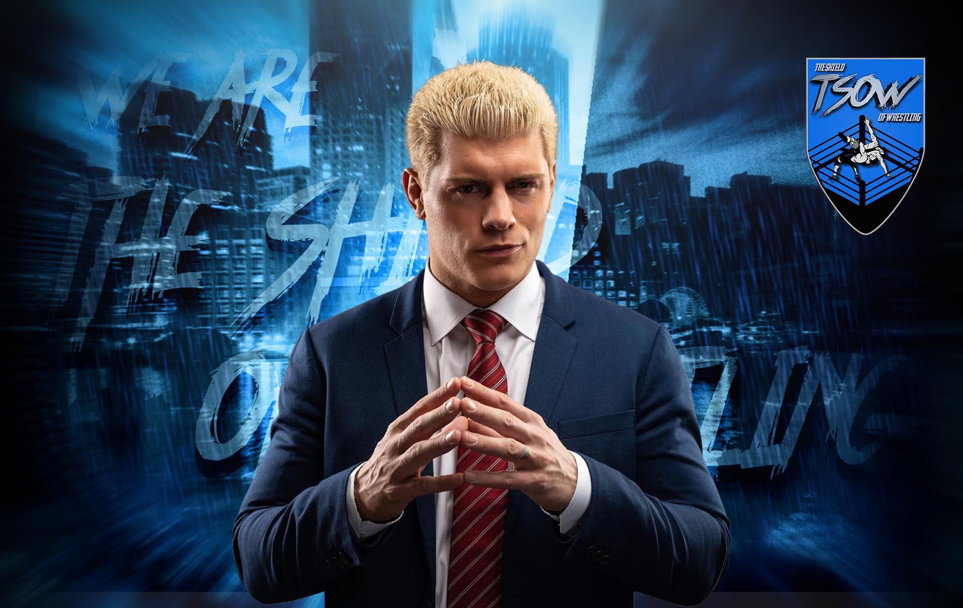Cody Rhodes in conflitto con gli altri vicepresidenti AEW