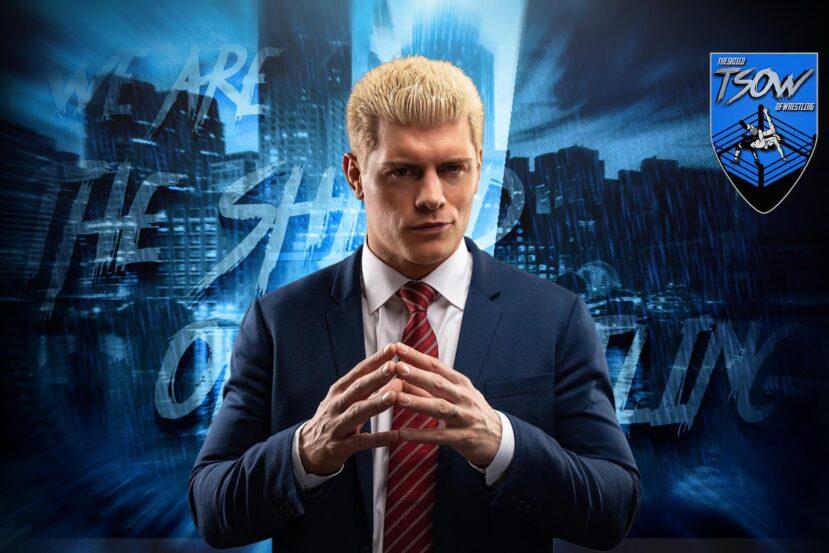 Cody Rhodes elogia il TNT Championship su Twitter