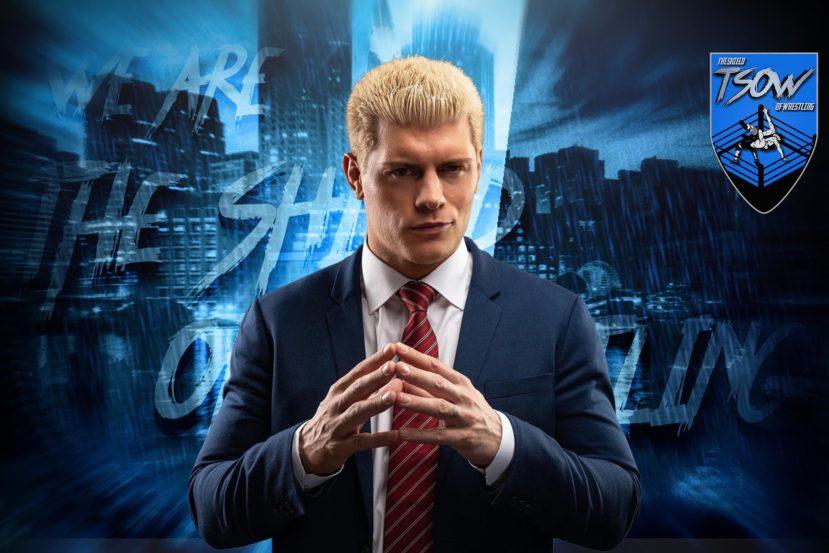 Cody Rhodes non parteciperà agli show AEW per un lungo periodo di tempo