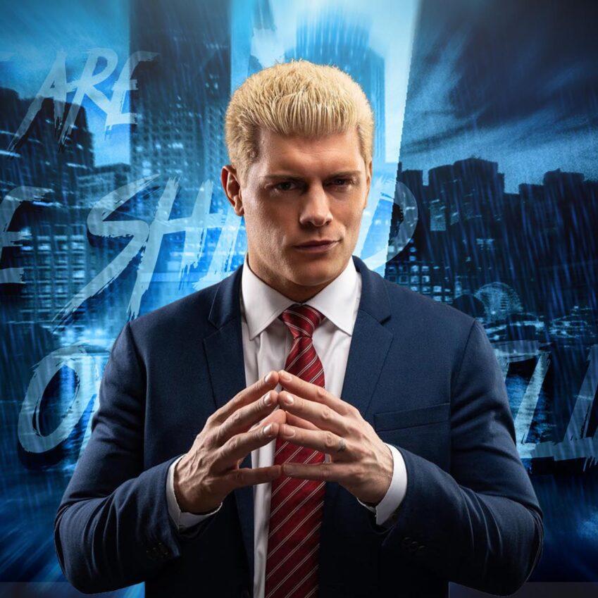 Cody Rhodes ribadisce: non sfiderà mai l'AEW World Champion
