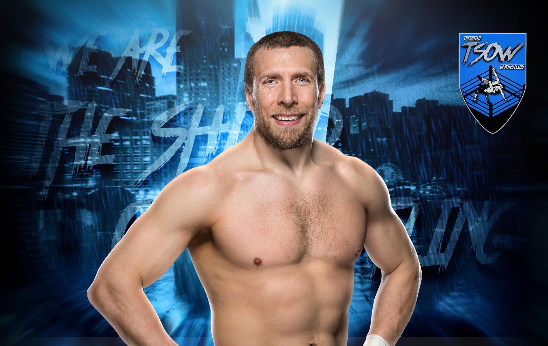 Daniel Bryan spostato nella sezione Alumni sul sito WWE