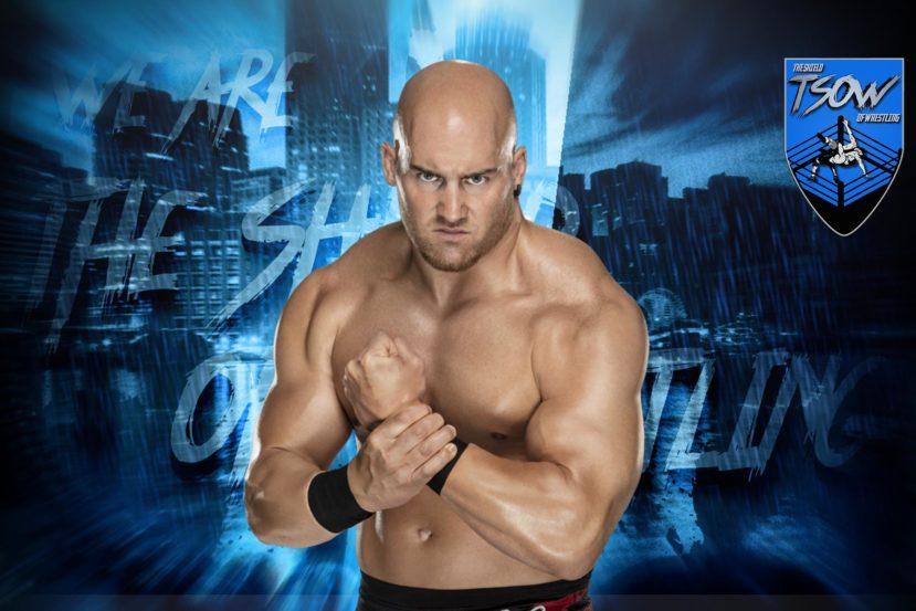 Fabian Aichner, l'orgoglio italiano ieri notte ha scritto un'altra fondamentale pagina del Wrestling Italiano