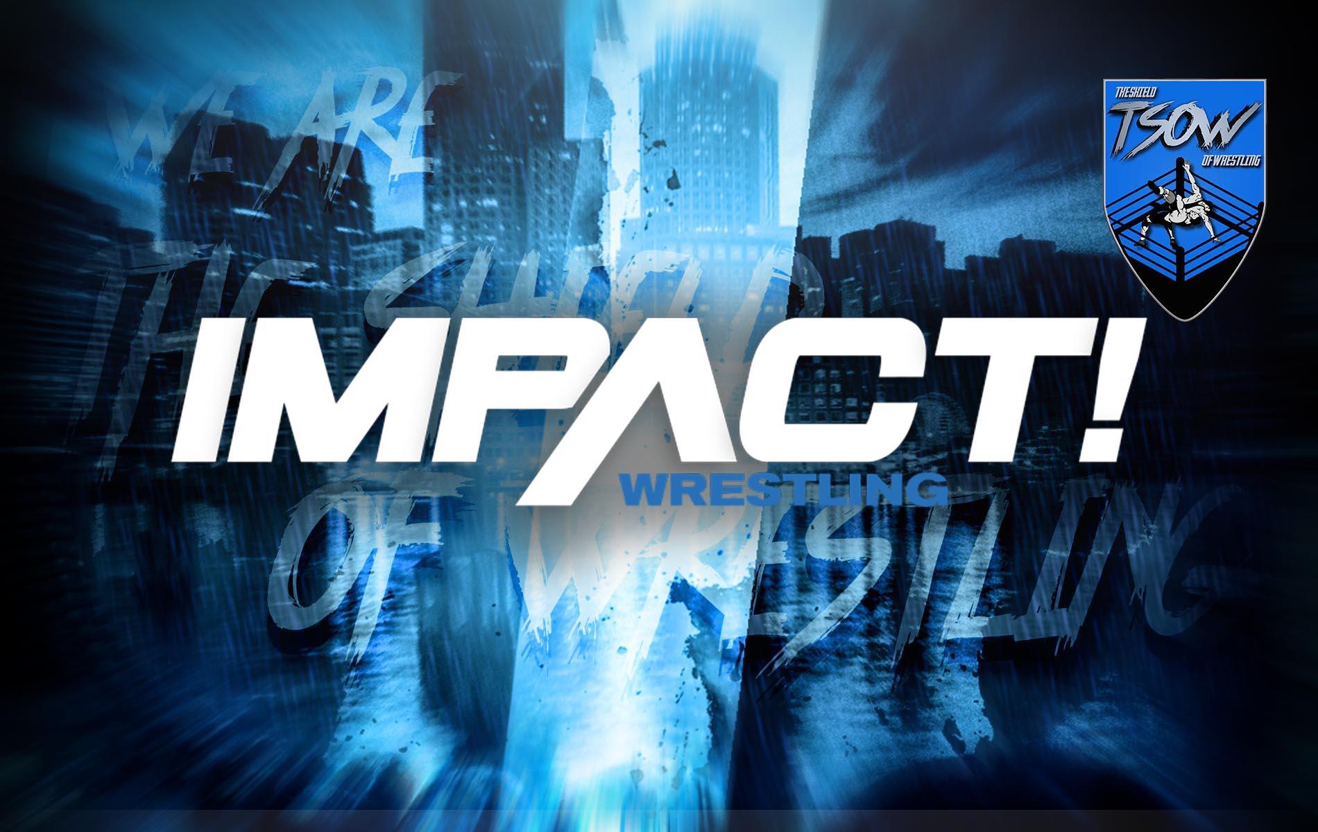 IMPACT! Wrestling: ex WWE pronto al debutto