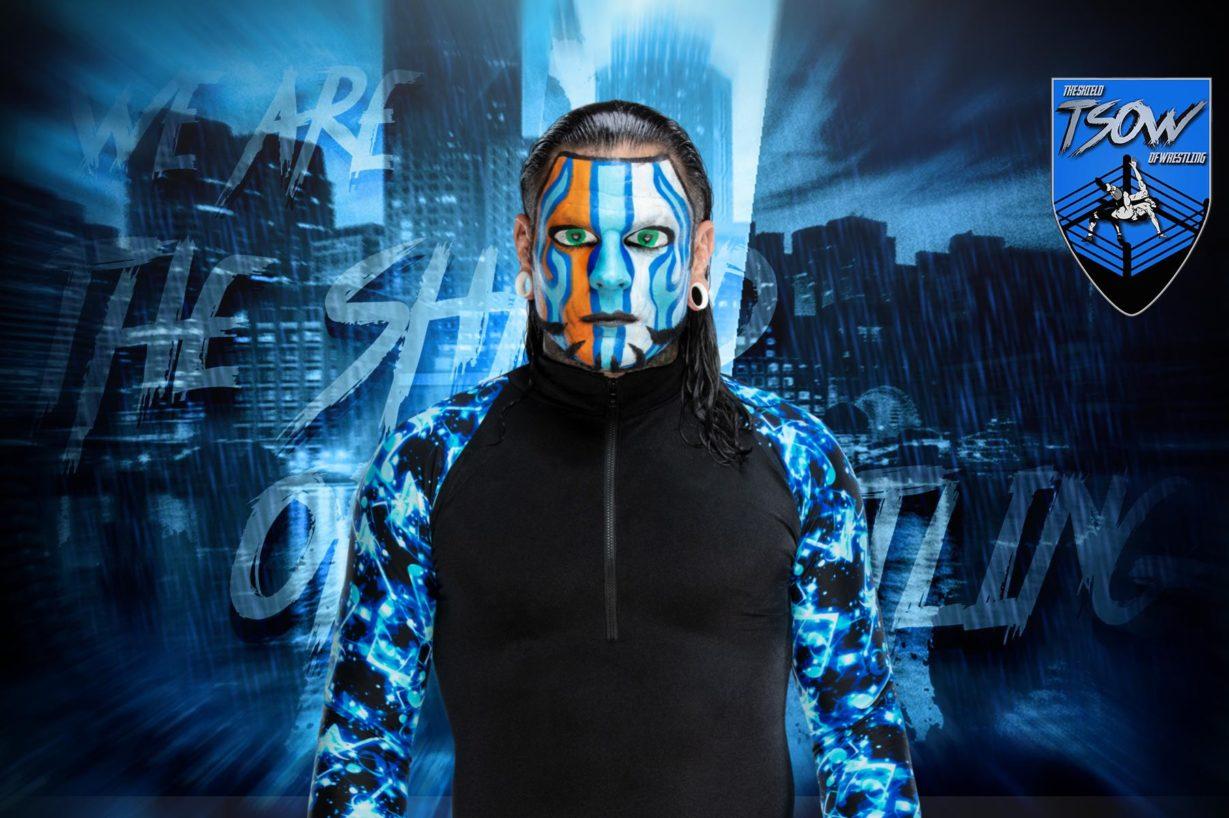 Jeff Hardy: la WWE ha cambiato nuovamente il nome alla sua mossa finale