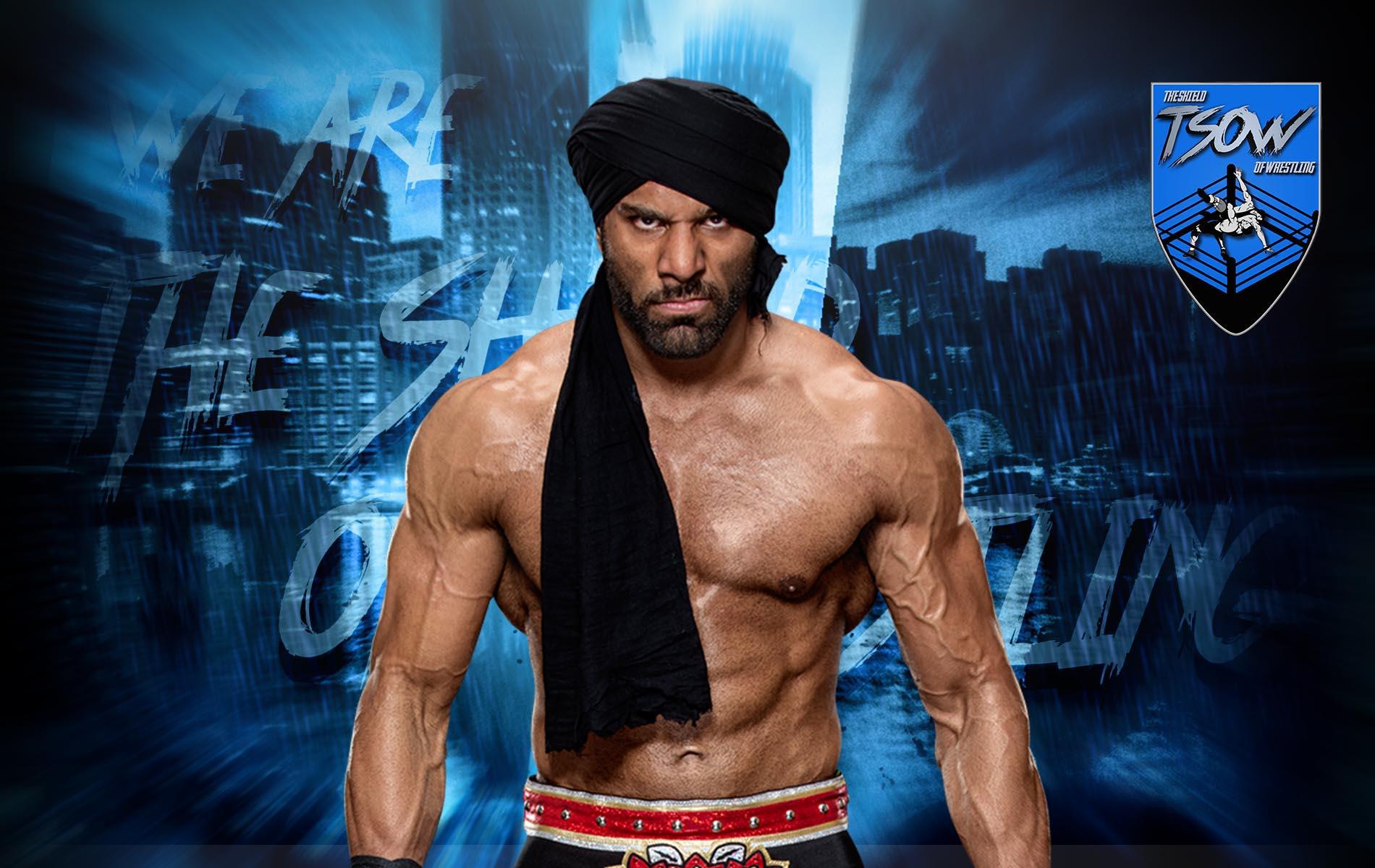 Jinder Mahal: la WWE non crede più in lui