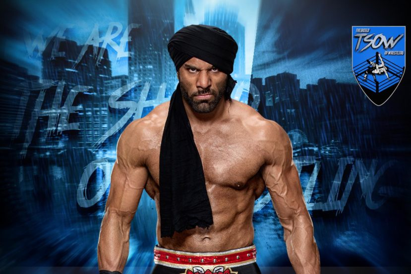 Jinder Mahal di nuovo infortunato al ginocchio