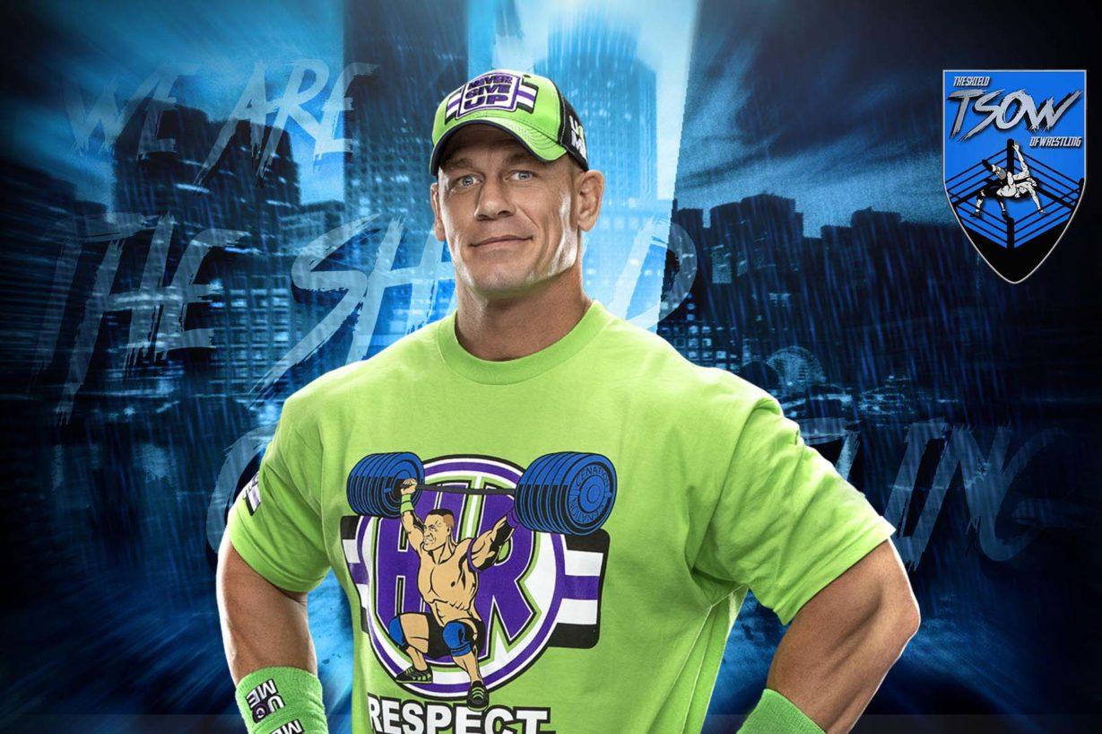 John Cena rende omaggio a Chadwick Boseman