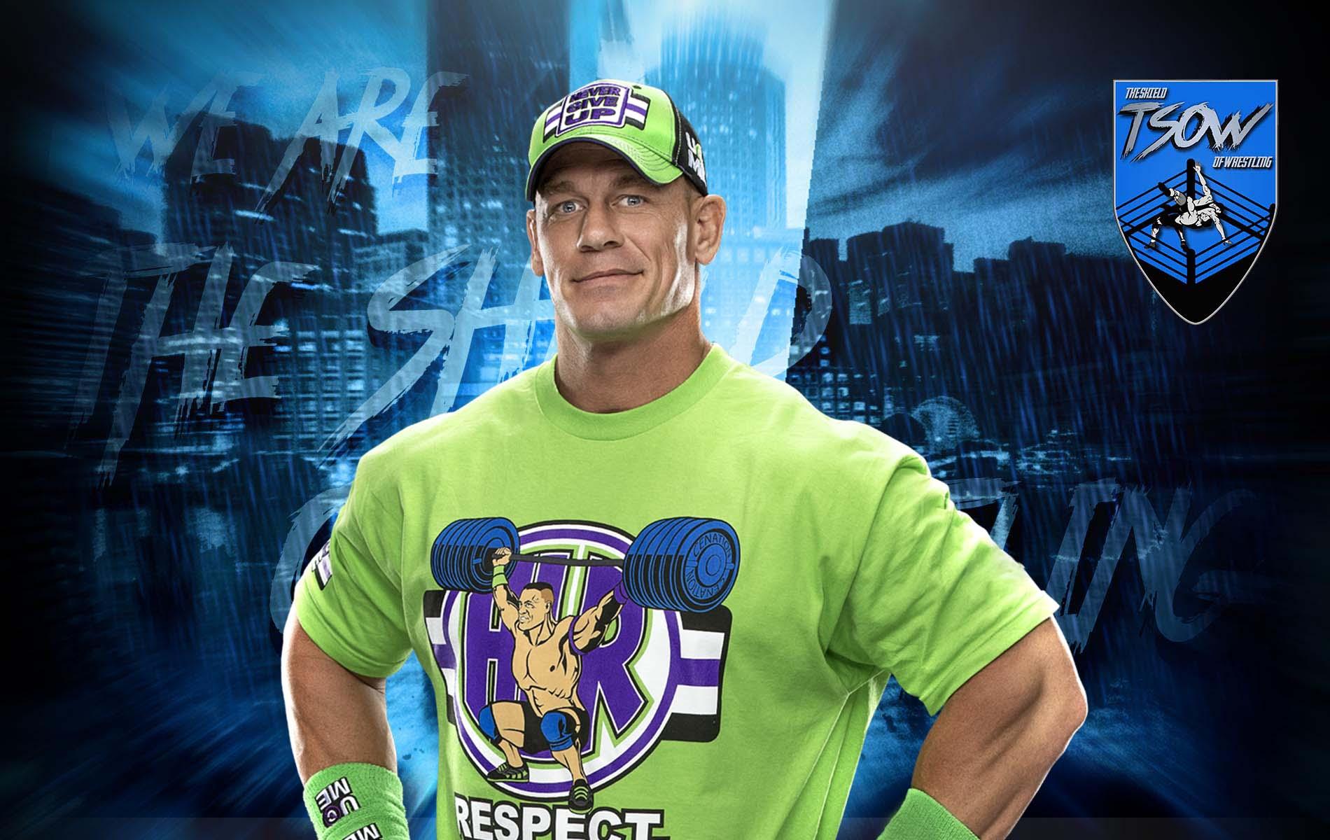 John Cena: la sua apparizione a WrestleMania 37 è in dubbio