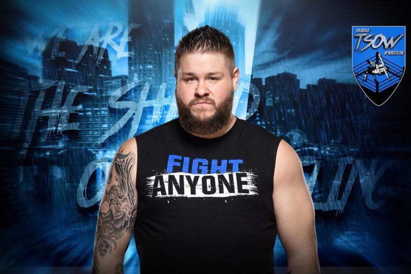 Kevin Owens rinuncia a presenziare ai tapings di RAW