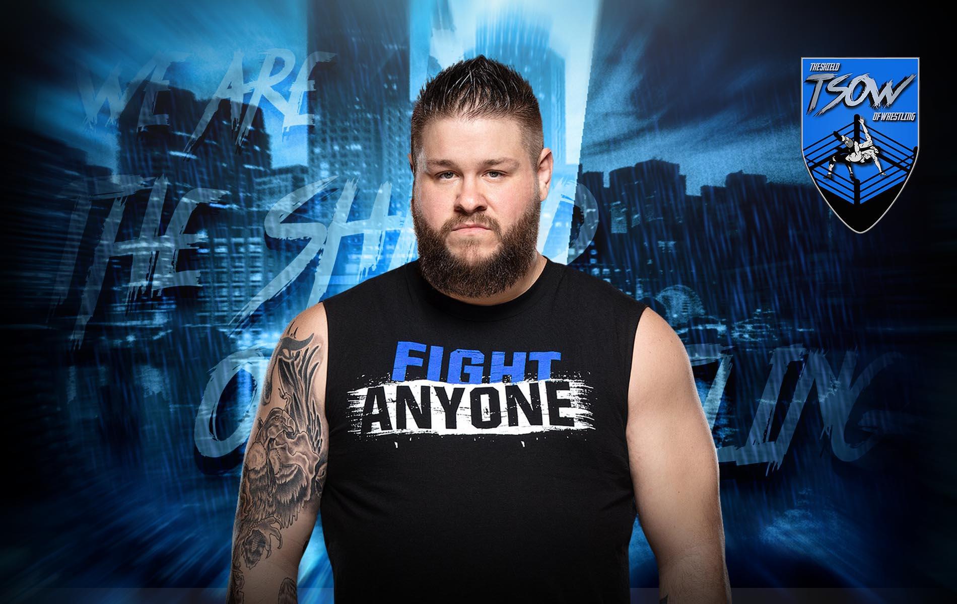 Kevin Owens vuole prendersi il WWE Universal Championship