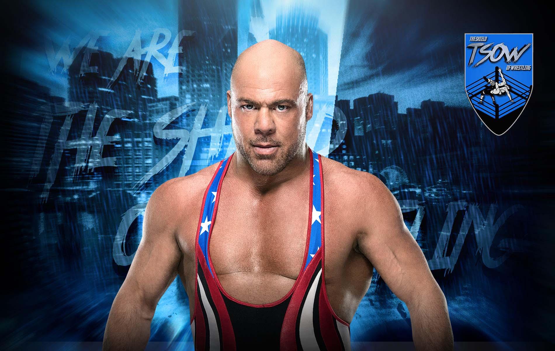 Kurt Angle elogia Brock Lesnar