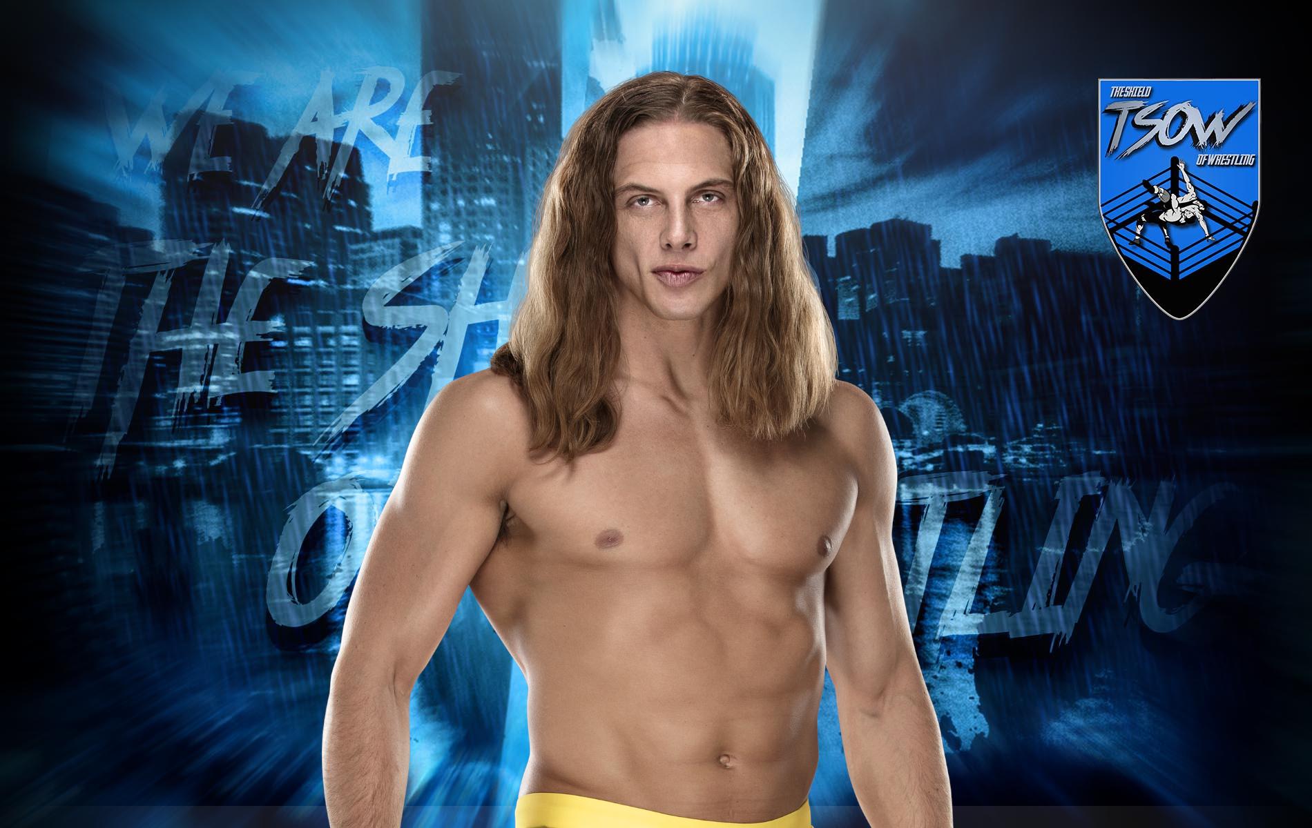Riddle ha firmato un nuovo contratto con la WWE