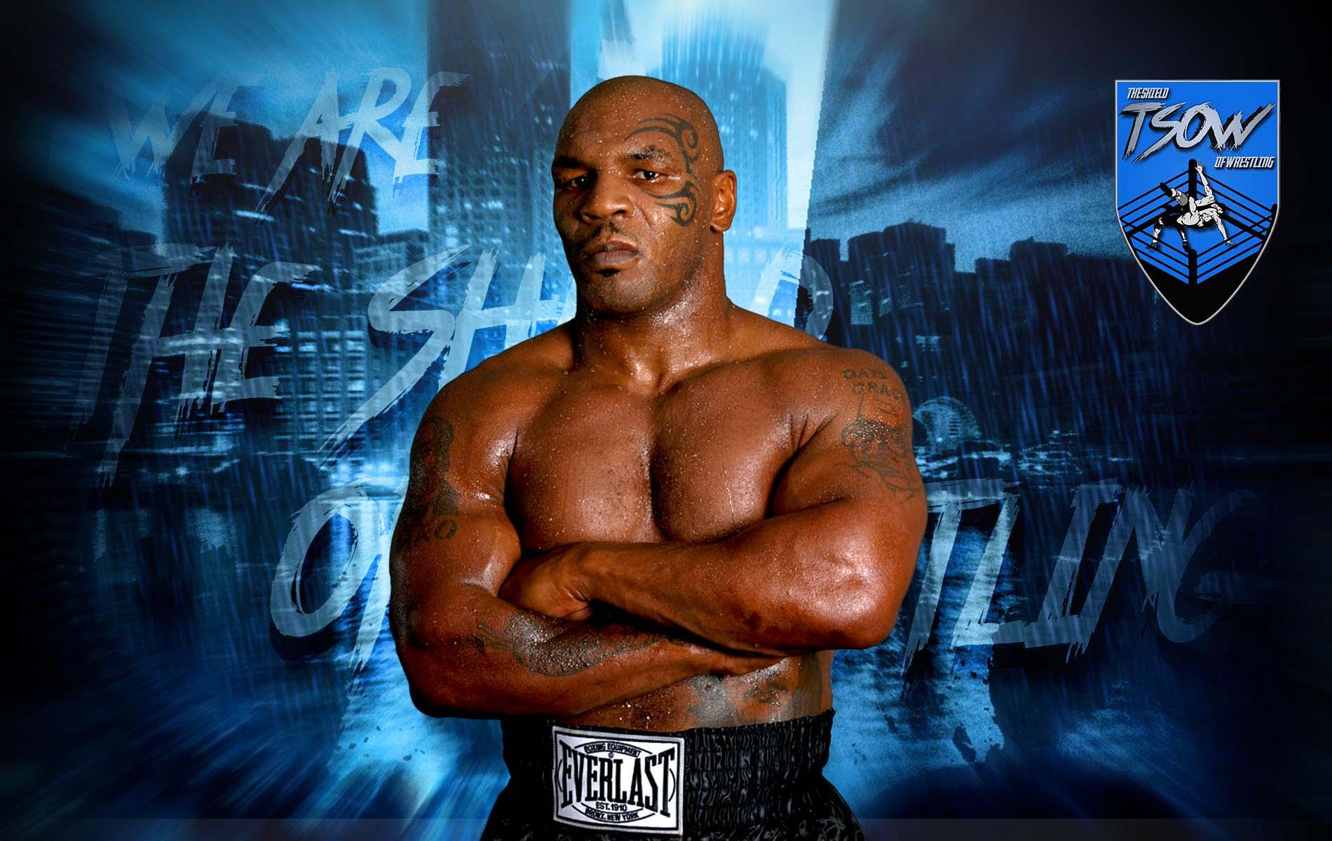 Mike Tyson: messaggi di incoraggiamento da parte di un wrestler AEW