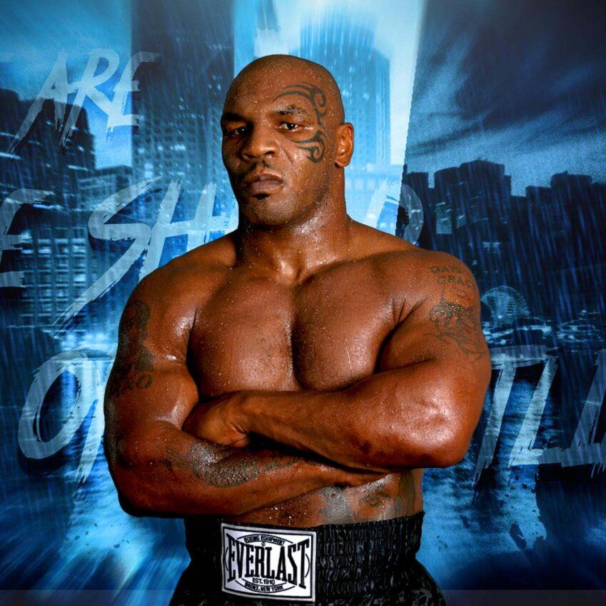 Mike Tyson: forte gancio destro a Cash Wheeler a AEW Dynamite