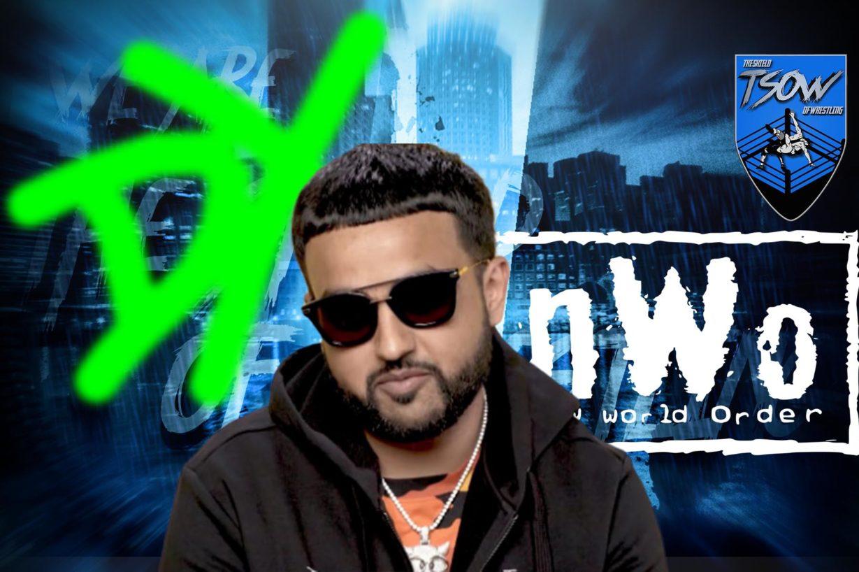 Il rapper NAV collabora con la WWE