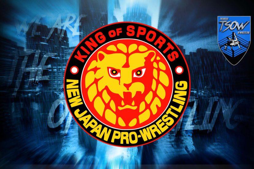 NJPW ritorna in azione: svelata la data