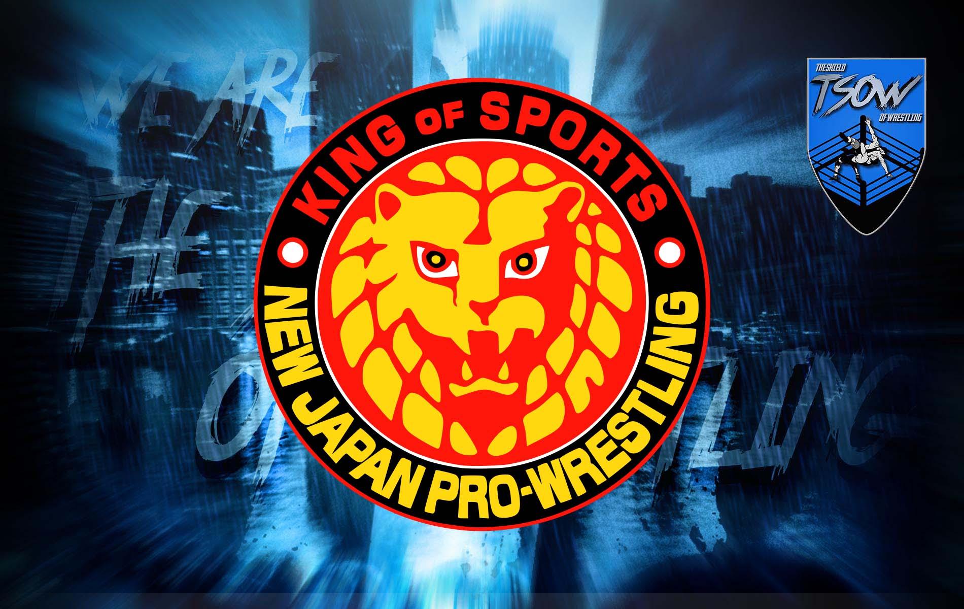NJPW: sette wrestler sono risultati positivi al COVID-19