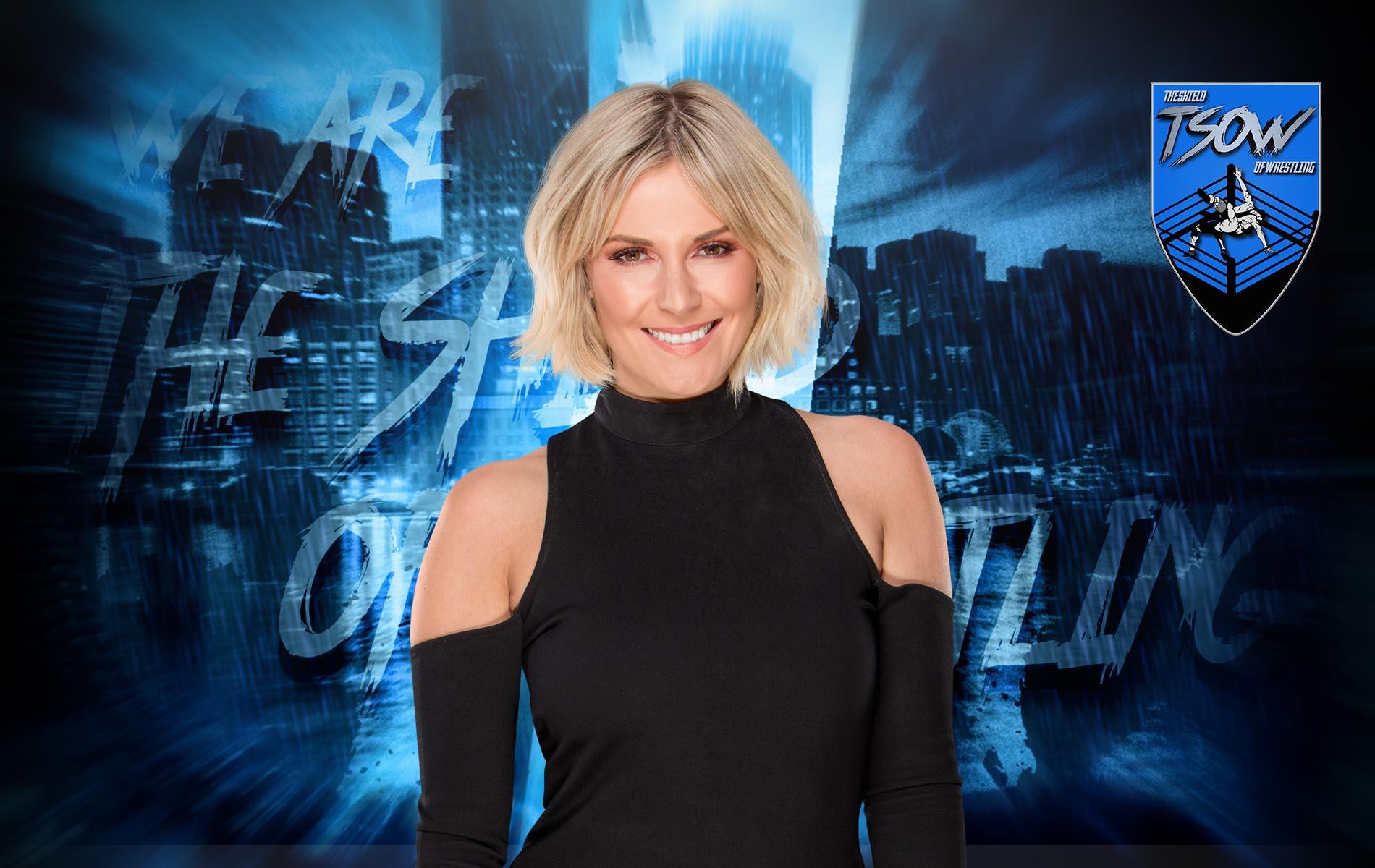 SmackDown Season Premiere: Renee Young è apparsa nel Kickoff
