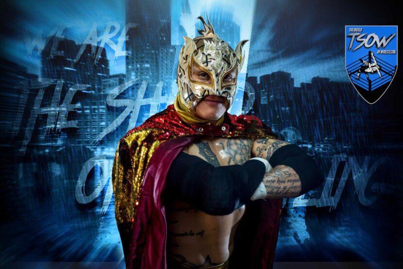Rey Fenix: apprensione per le sue condizioni dopo il match di AEW Dynamite